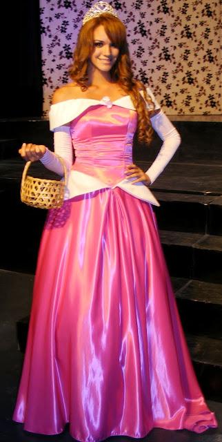 Giselle Patrón de princesa