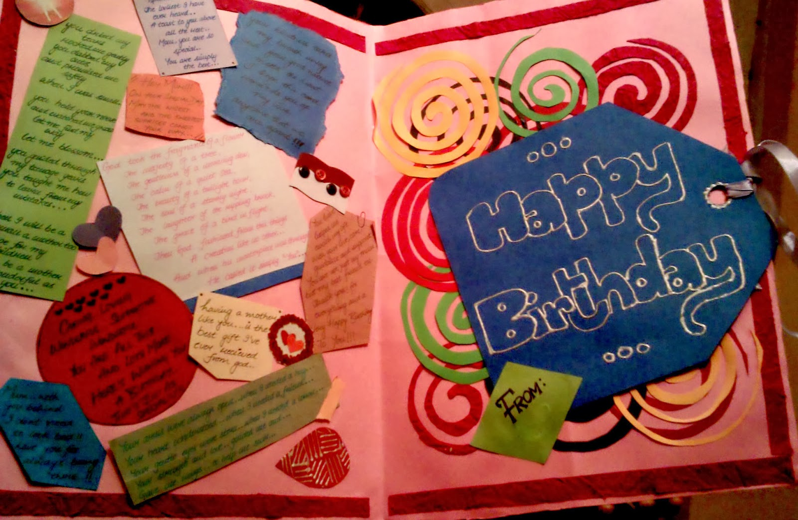 Collage Birthday Cards motivational greeting cards – Picture Collage Birthday Card