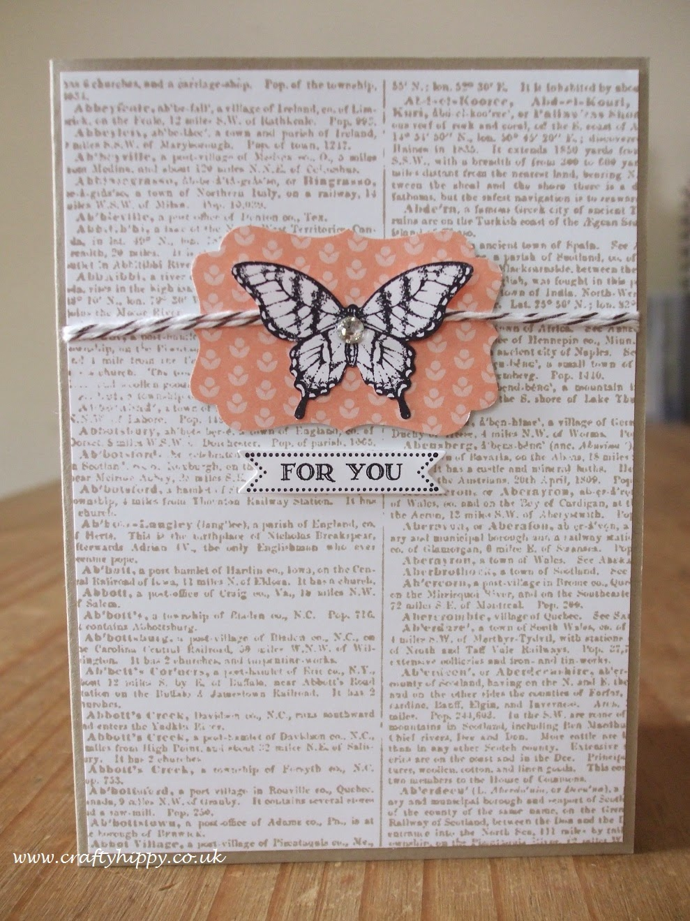 Dictionary, Papillon Potpourri, Stampin' Up!
