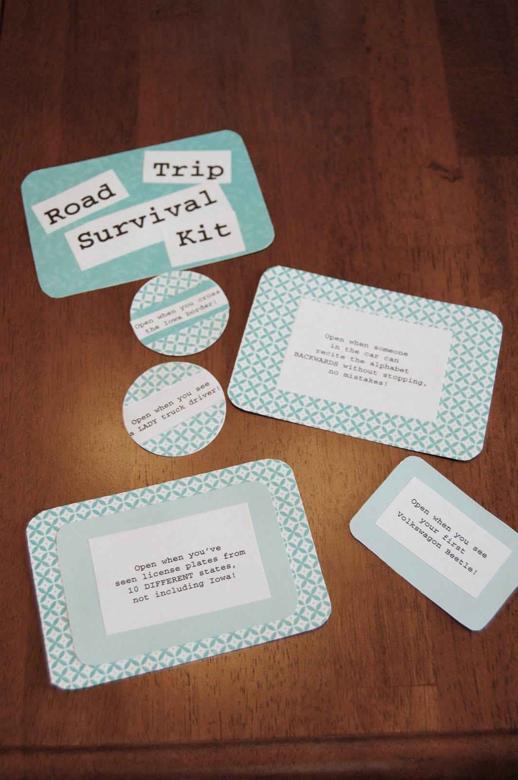 On The V Side Road Trip Survival Kit