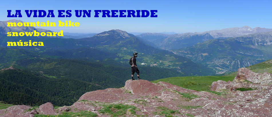 LA VIDA ES UN FREERIDE O ES UN FREERIDE LA VIDA