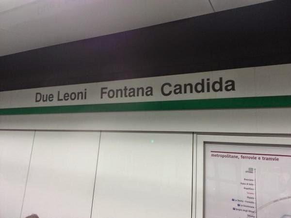 Metro C - Fonte Candida