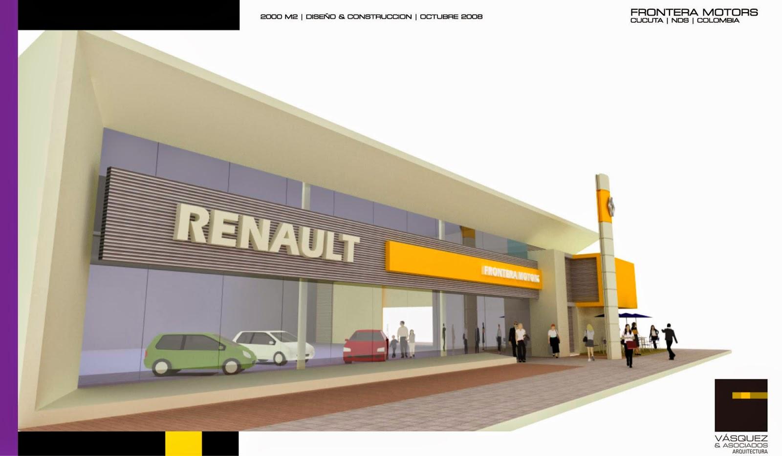 Vasquez y asociados arquitectura ltda frontera motors renault for Genesis arquitectura y diseno ltda