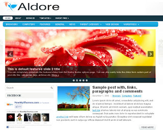 WordPress-Template Aldore