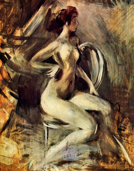 Giovanni Boldini 1842-1931 | Italian Genre and Portrait painter | La Belle Epoque