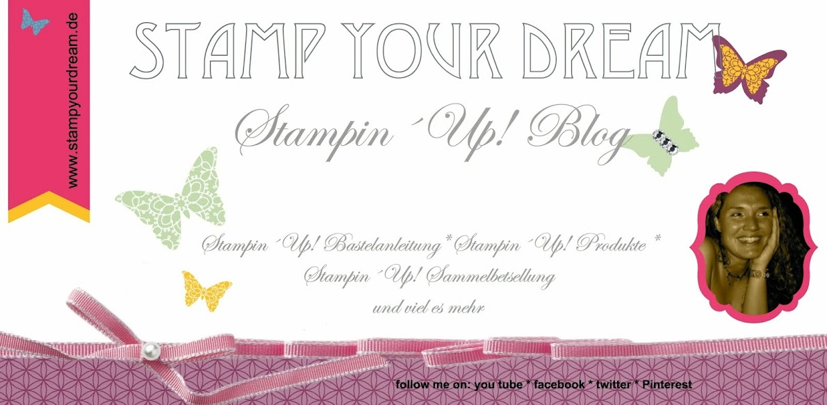 stamp your dream Stampin´up! Blog