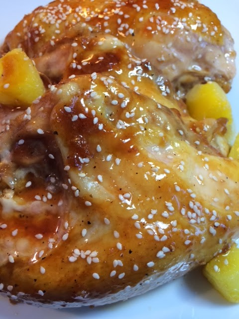 Michele's Woman Cave: Baked Honey Teriyaki Chicken