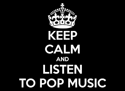 Keep Calm and Listen to the Music and Stay Quite