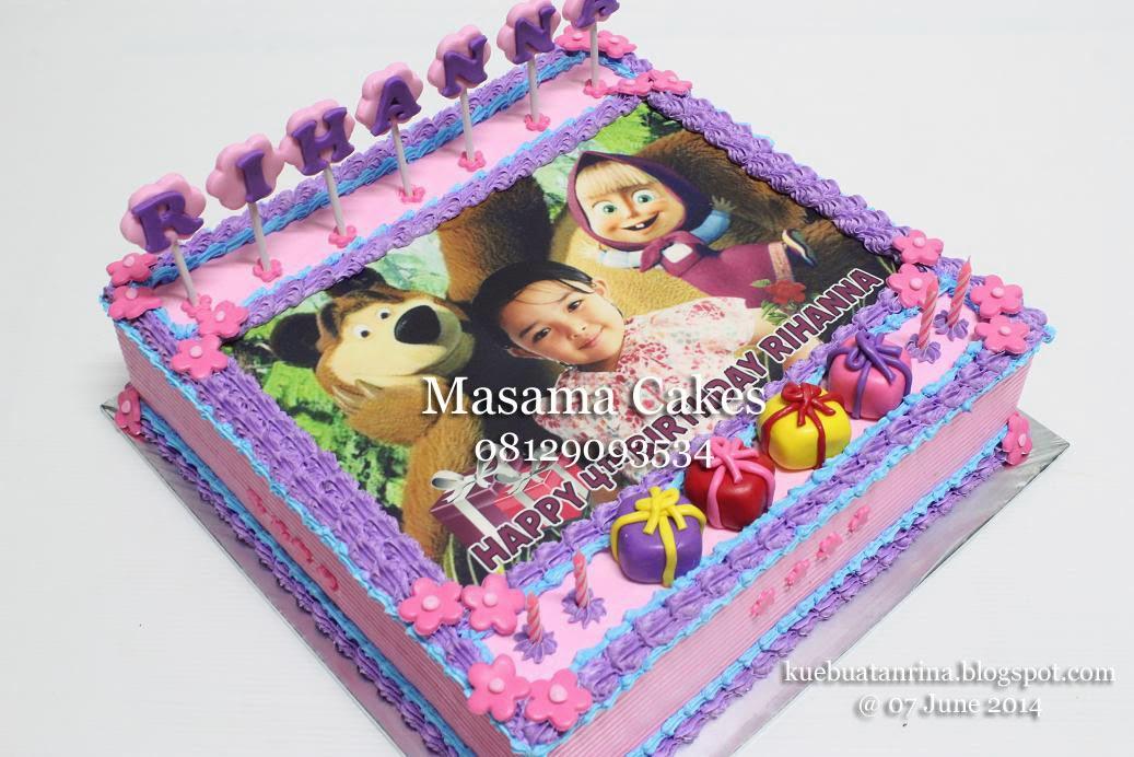 Masama Cakes Marsha And The Bear Birthday Cake For Rihana