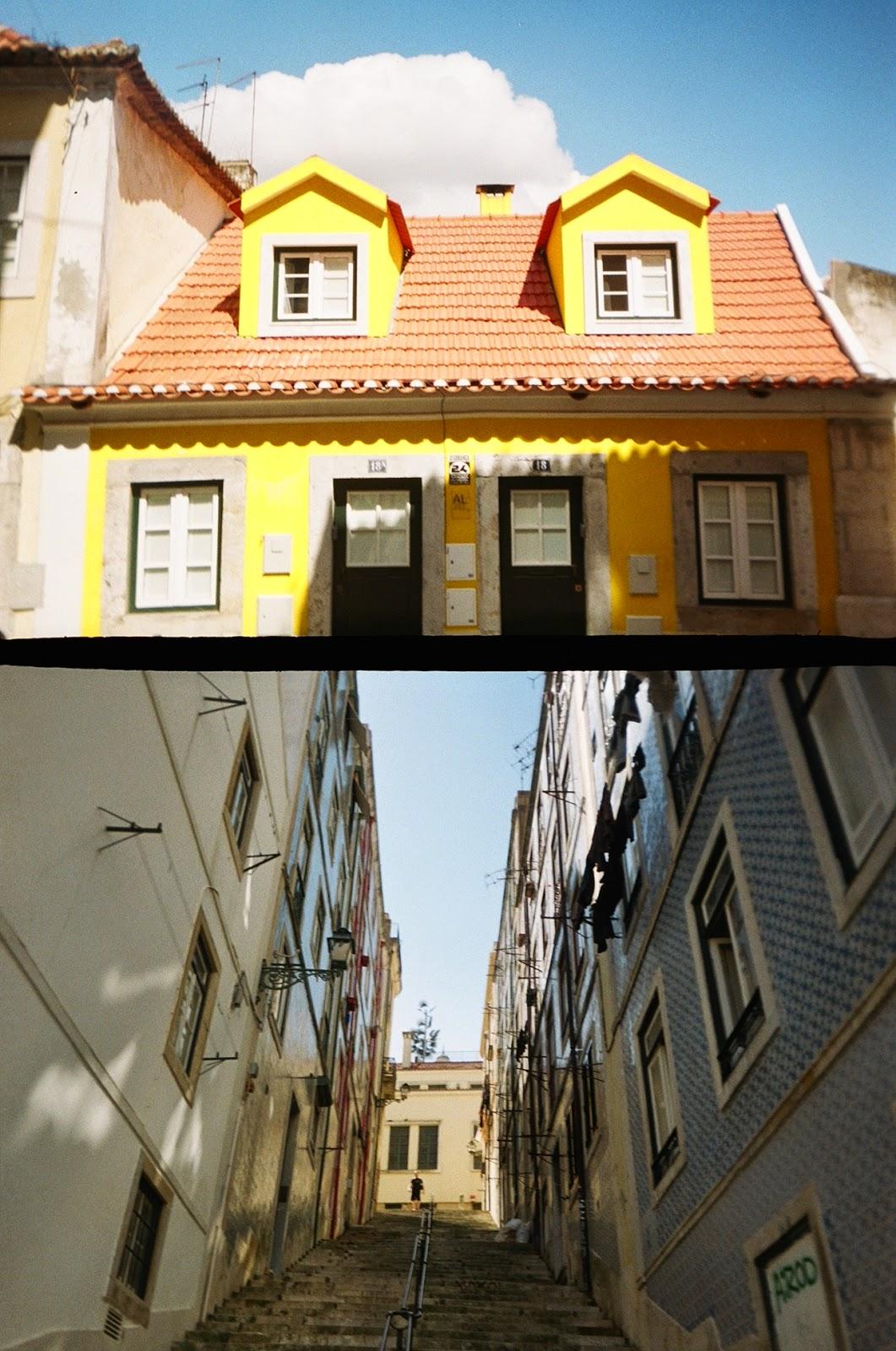 Lisbon Lisboa Portugal film goldenhalf