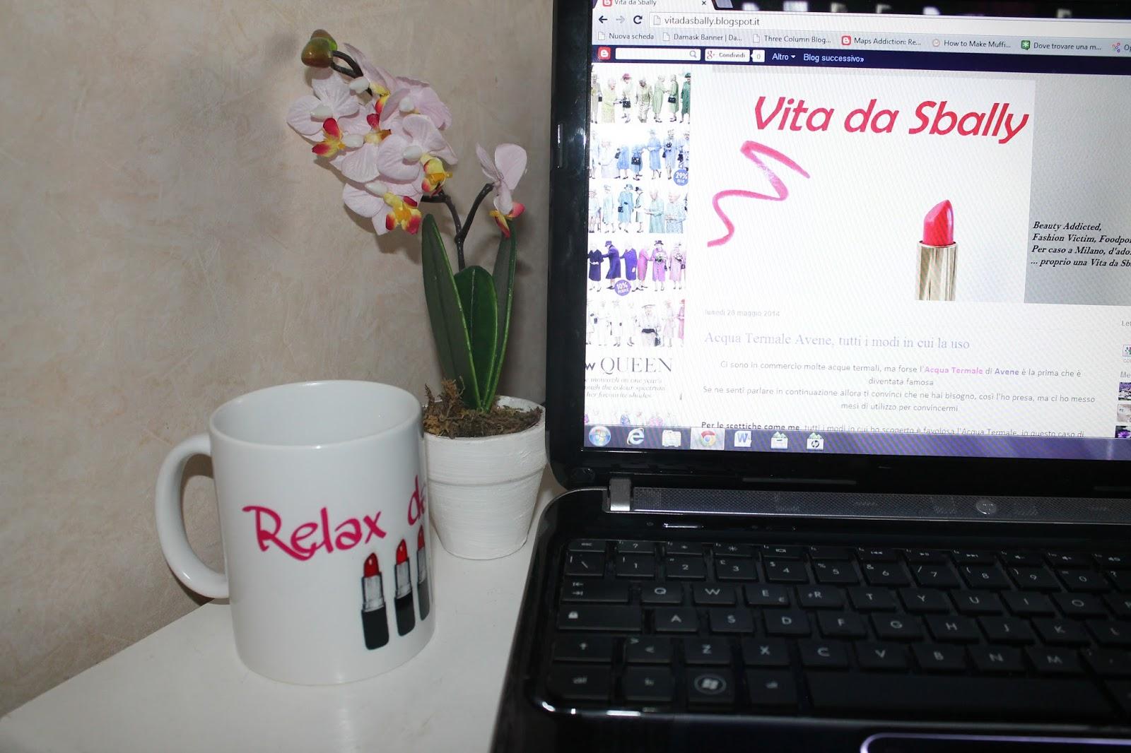 Vita da sbally photosì la mia tazza personalizzata