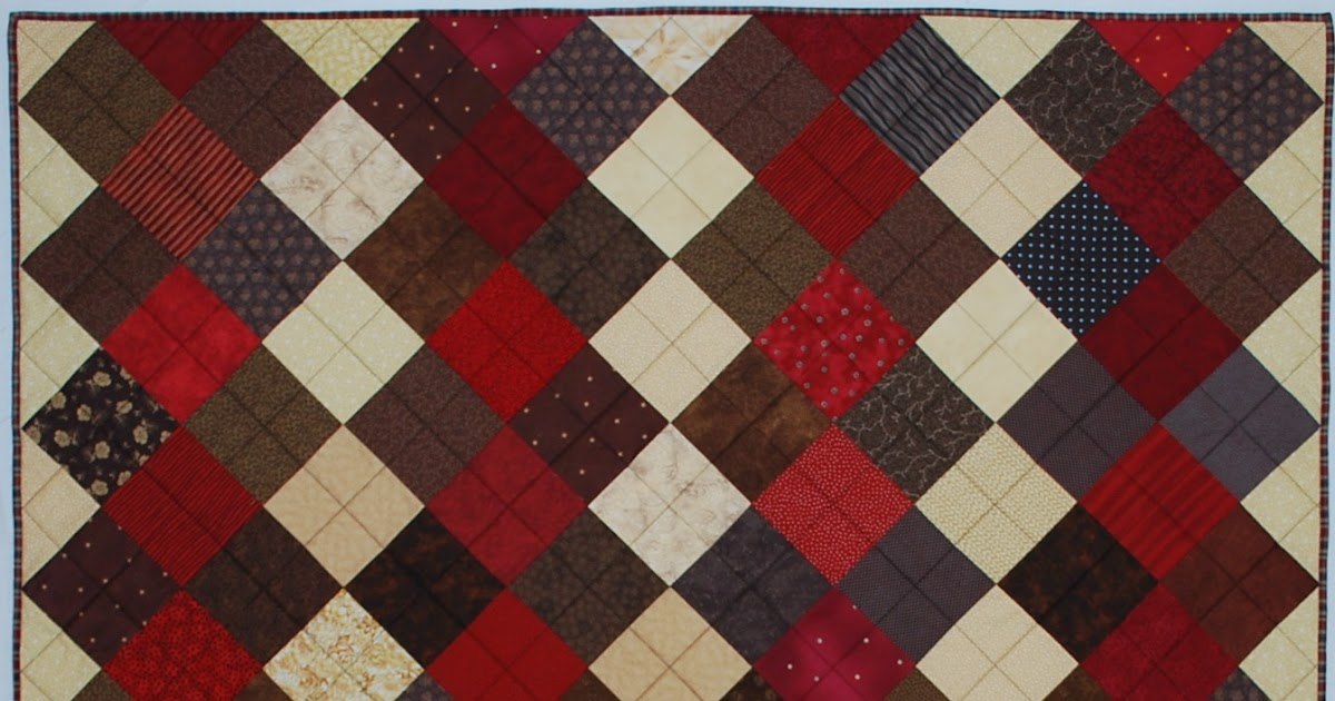 Double Nickel Quilts: Nickel Argyle and Roll of Nickels quilts finished