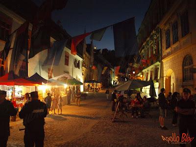 Noaptea in Sighisoara