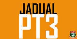 Jadual Dan Tarikh Pelaksanaan PT3 Tahun 2014