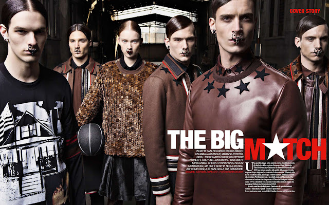 Katya Riabinkina for Givenchy Special in MFFashion.it e-magazine