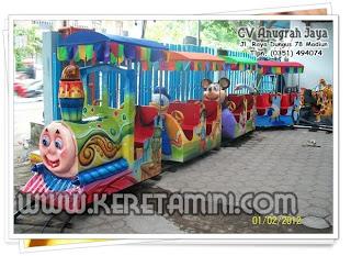 Kereta Mainan Mini