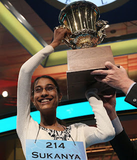 Scripps National Spelling Bee 2011, Sukanya Roy, cymotrichous