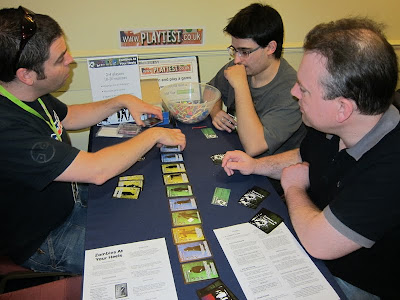 The PlayTest Zone - One of the games