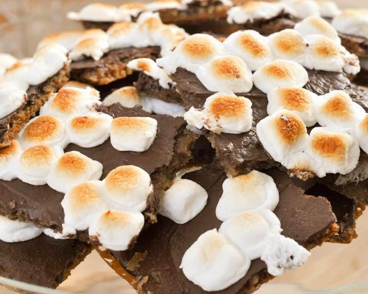 Beki Cook's Cake Blog: S'mores Toffee Bark {Recipe}