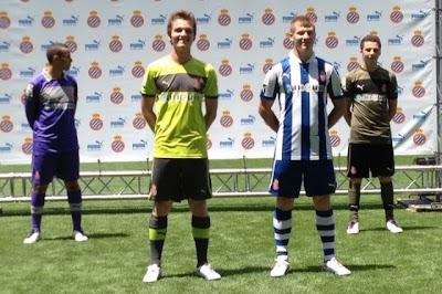Seragam Baru Espanyol Musim 2012-2013