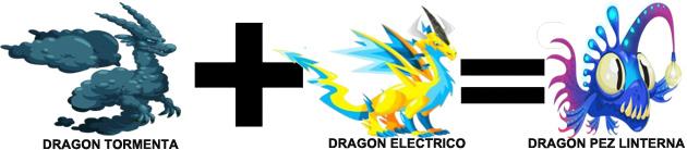 como sacar el dragon pez linterna en dragon city combinacion 1