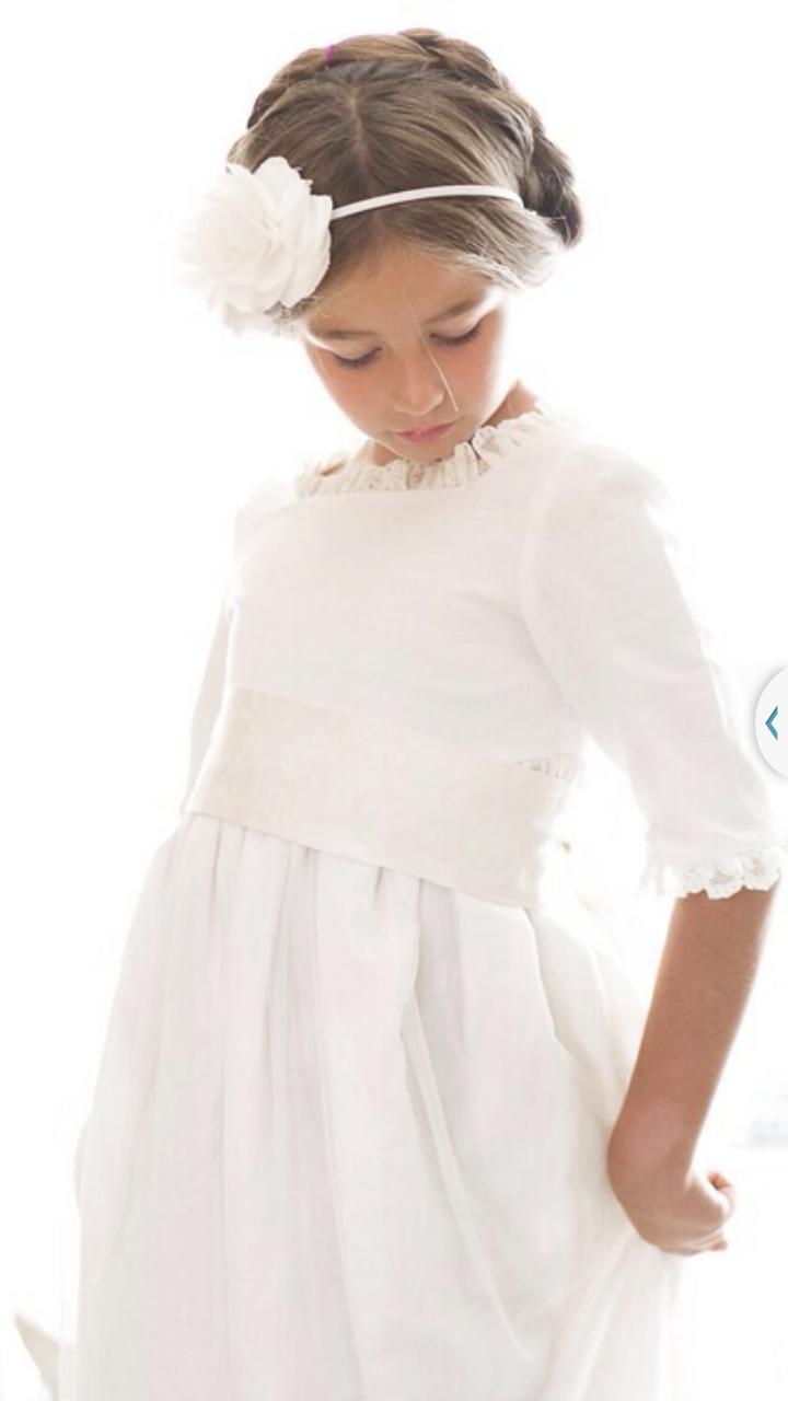Vestido primera comuni 243 n vestidos de comuni 211 n sencillos elegantes
