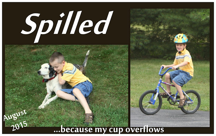 Spilled:  Because My Cup Overflows