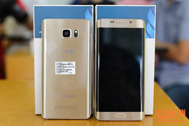 Galaxy note 5 và galaxy s6 edge