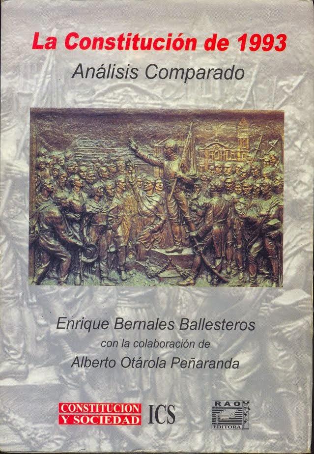 Descargar Constitución Política del Perú COMENTADA - Bernales