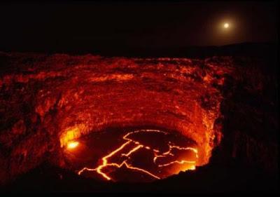 lago de fuego de etiopia