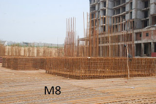 Amrapali Kings Wood :: Construction Update M8