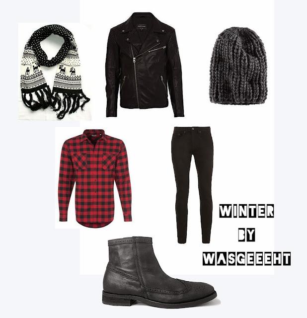 Winter Outfit Herren Männer