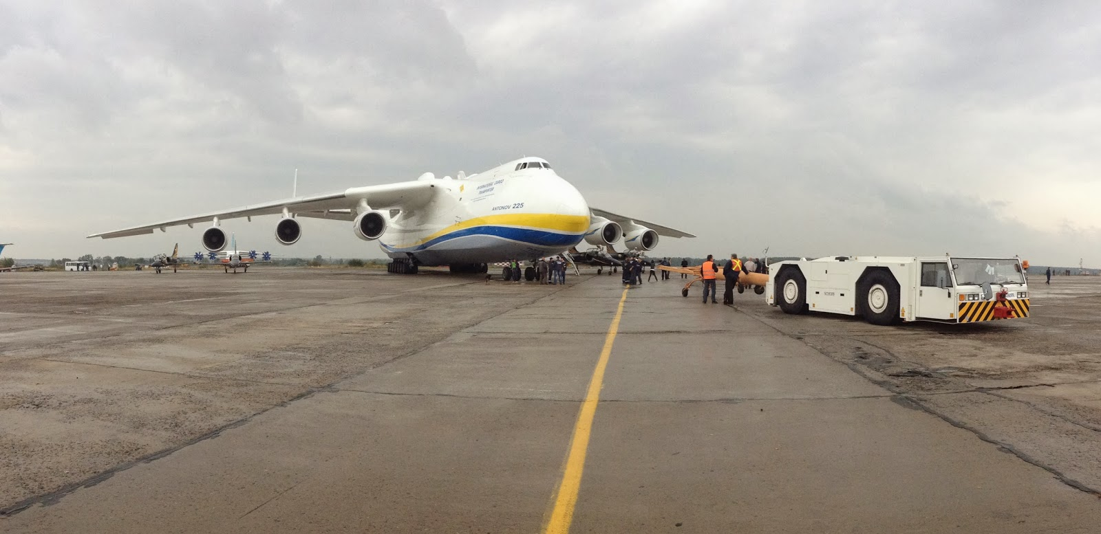 All about Antonov 225 Mriya