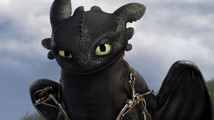Toothless How to Train Your Dragon 2