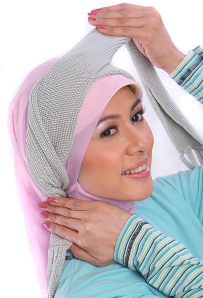 Cara Pakai Jilbab Modern