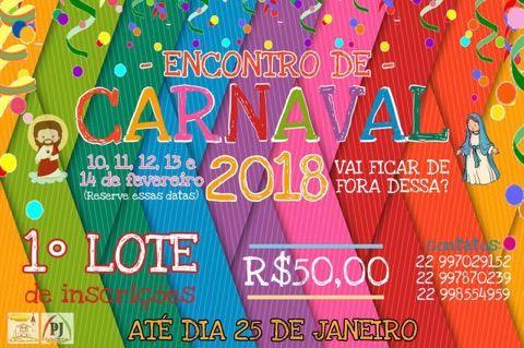 ENCONTRO DE CARNAVAL