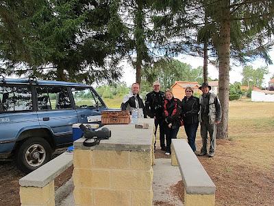 Postbreeding Tour. P.N. Alto Ebro y Rudrón.