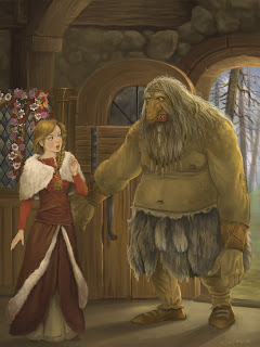 The Troll With No Heart in His Body,Tales of Trolls,Lise Lunge-Larsen,norwegian fairy tales,