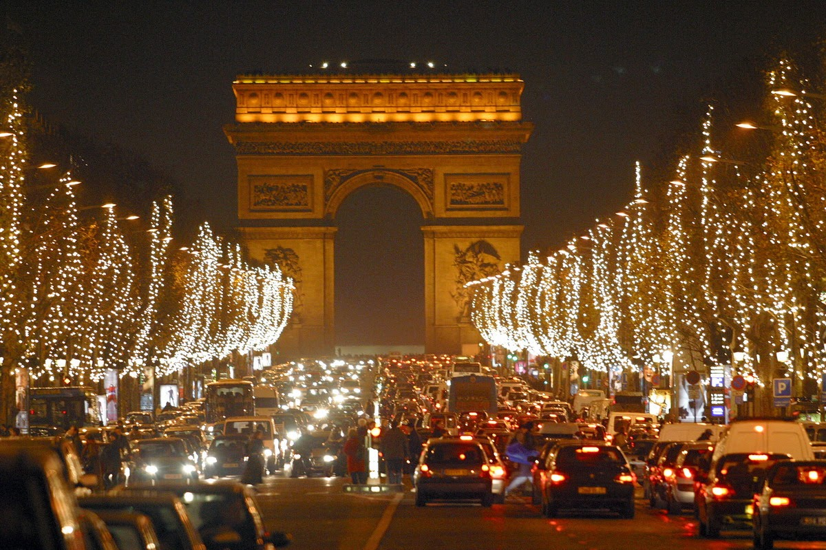 #C88C03 Champs – Elysees ~ Beautiful Place To Visit In Paris  5429 decorations de noel france 1200x799 px @ aertt.com