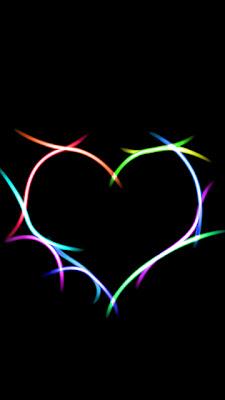 Veliko srce, čestitka za Valentinovo slike besplatne pozadine za mobitele