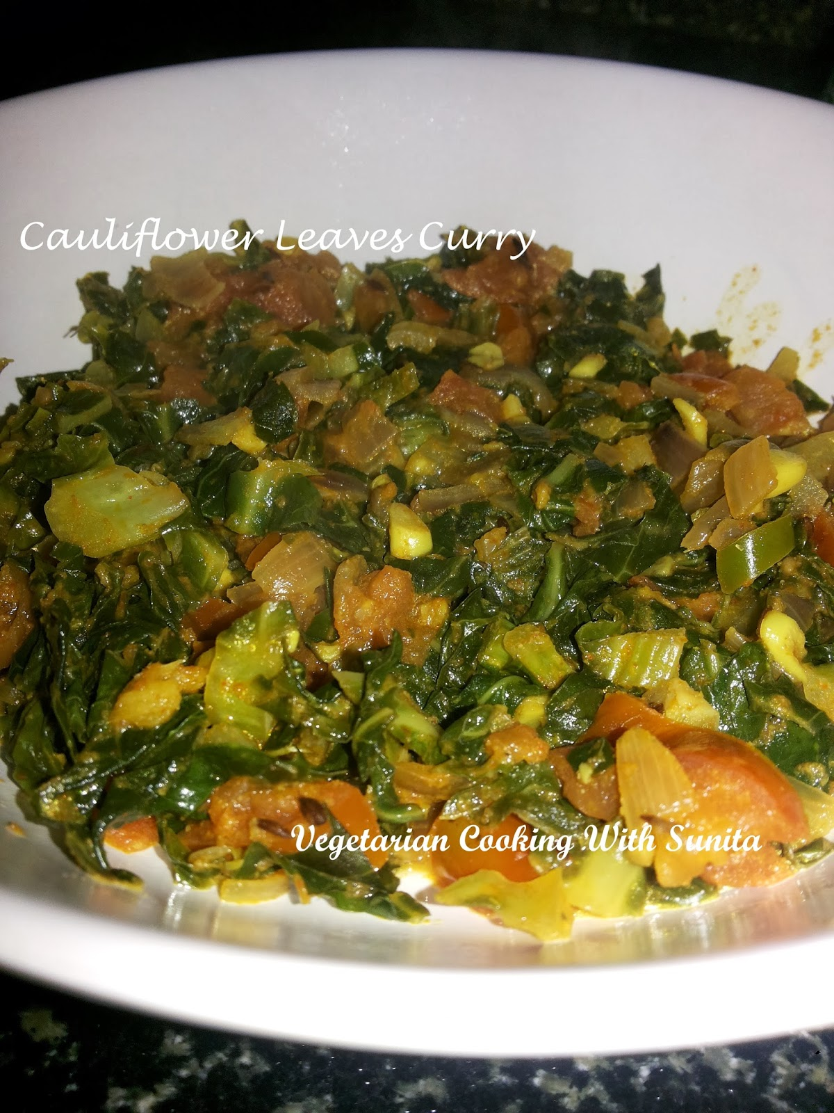 Indian food recipes indian recipes desi food desi recipes 1 cup chopped cauliflower leaves 1 onion chopped 1 tomato chopped 1 green chilli chopped 2 tsp ginger garlic finely chopped 14 tsp turmeric powder forumfinder Choice Image