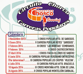Circuito Chorco Carreras Populares