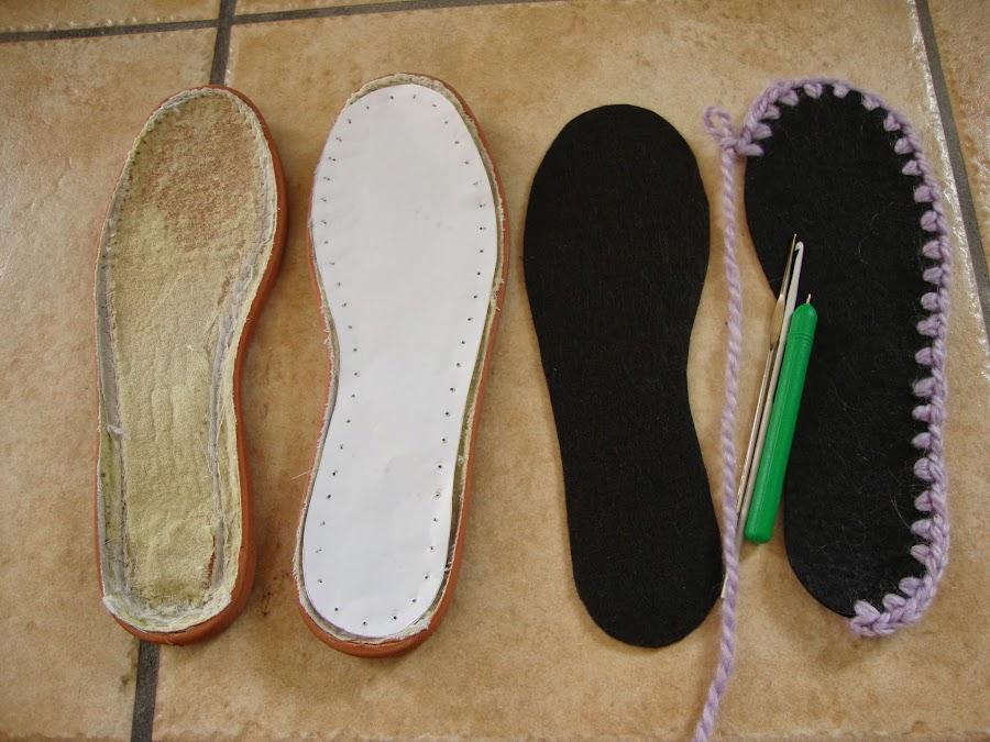 Zapatillas de crochet: una gran idea para andar bien calentitos por casa