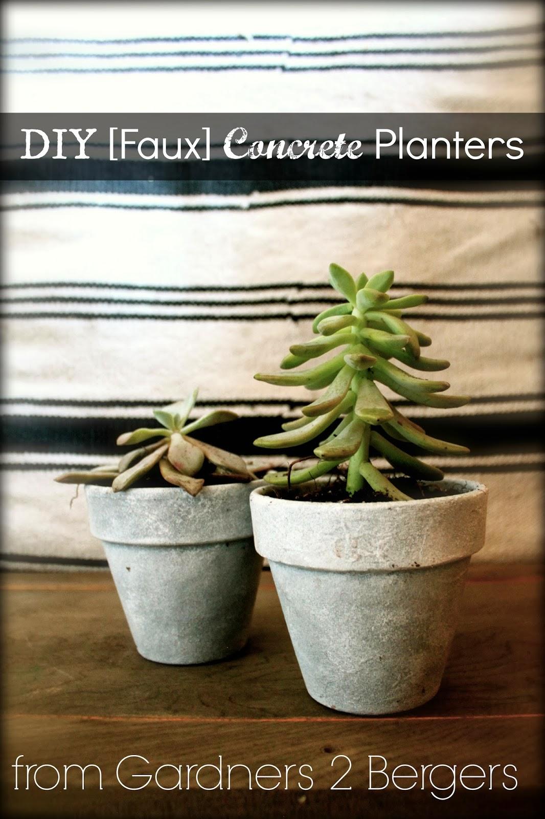 DIY-Faux-Paint-Concrete-Planters