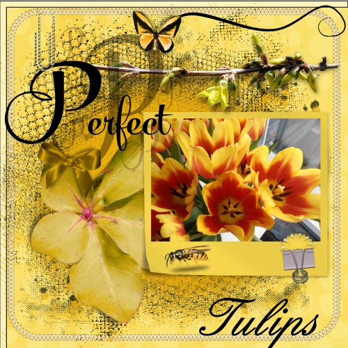 May 2016 Tulips mask