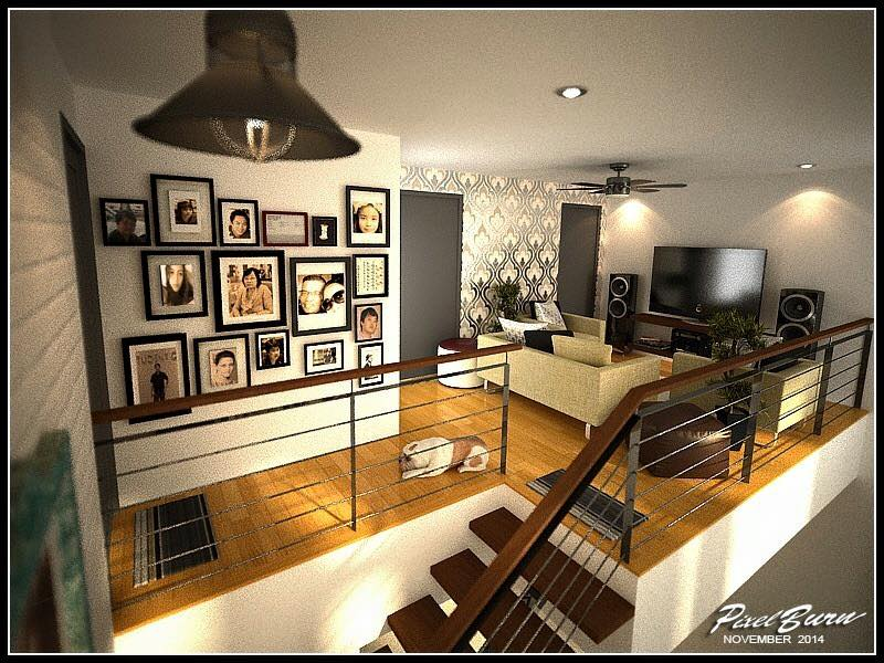 Two Story Modern Villa Design And All Interior Designs