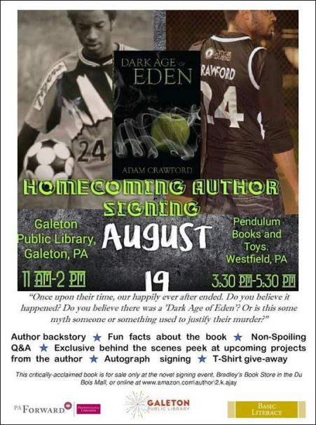 8-19 Book Signing Author Of Homecoming