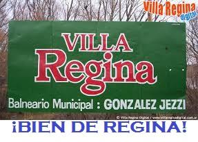 ENTRADA AL BALNEARIO MUNICIPAL REGINENSE.