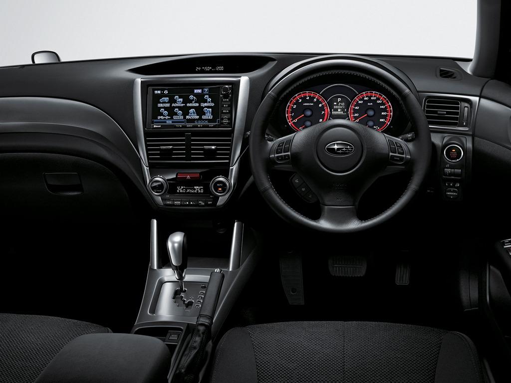 Subaru Forester III-gen. SH 2007 japoński samochód terenowy suv 日本車 スバル wnętrze interior