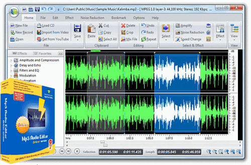 WavePad Audio Editor Pro Functions Review
